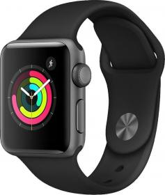 Apple Watch Series 3 Aluminium 38mm (MTF02ZD/A) BLACK