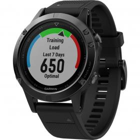 Garmin Fenix 5 Sapphire (Black with Black Band) (010-01688-11)