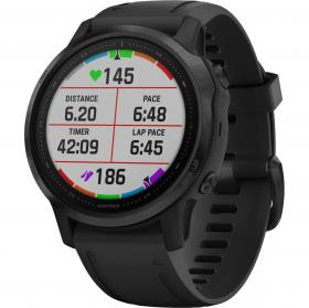 Garmin Fenix 6S Pro (Black With Black Band) (010-02159-14)